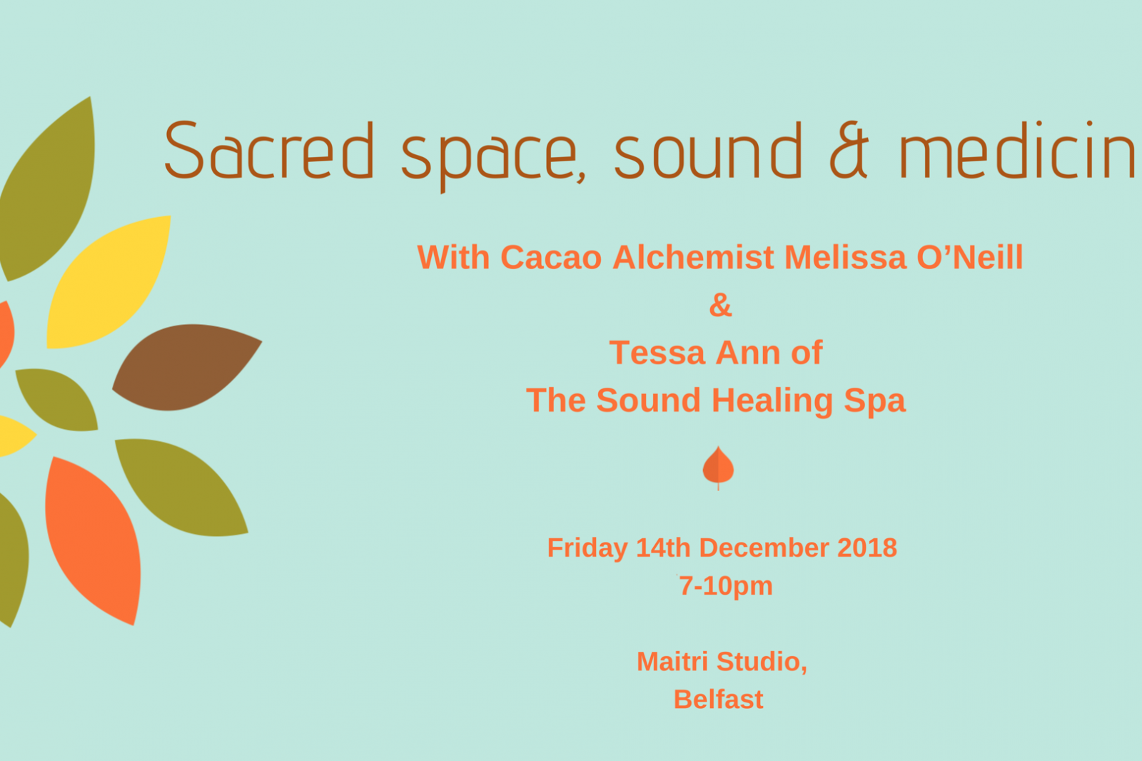 14 Dec Sacred Sounds With Tessa Melissa