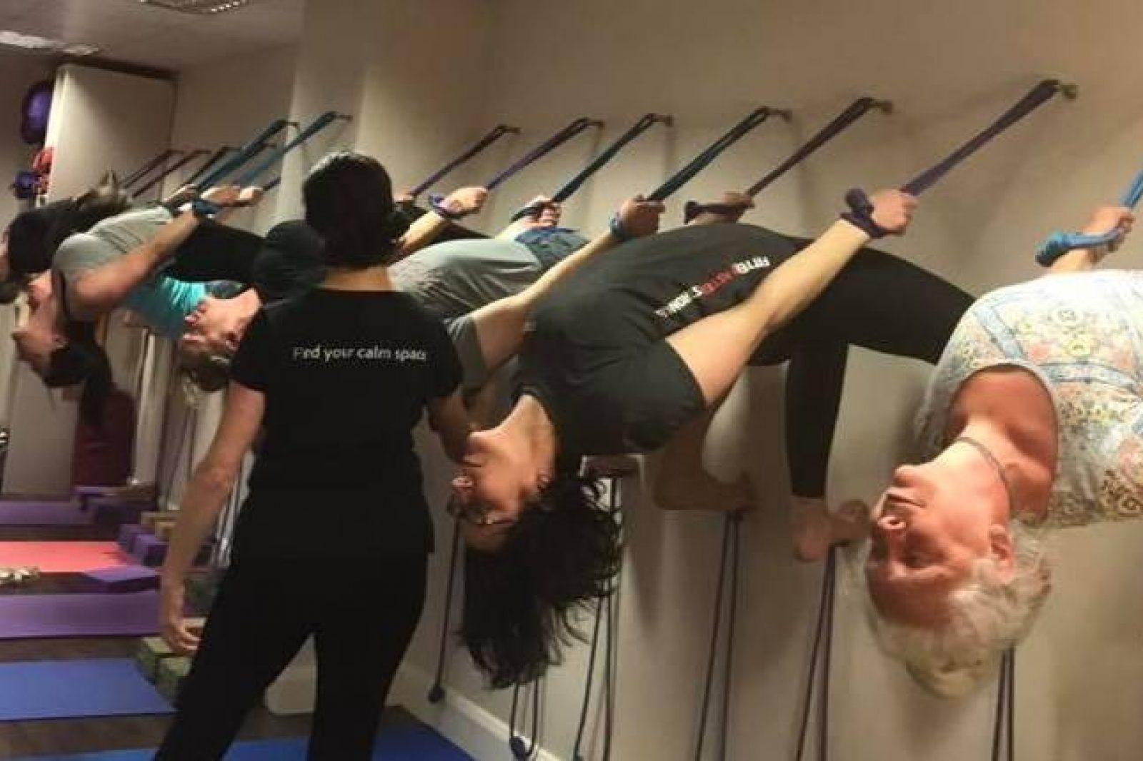 Teaching Rope Backbend
