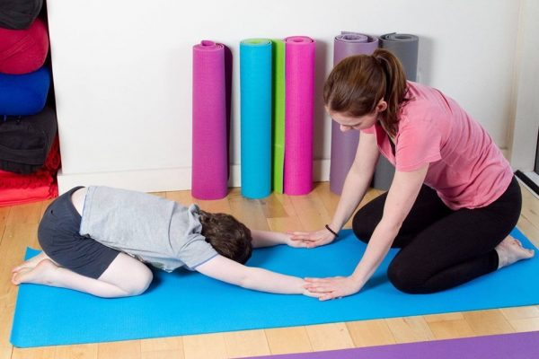 Asd Stretching With Young Child May 2017
