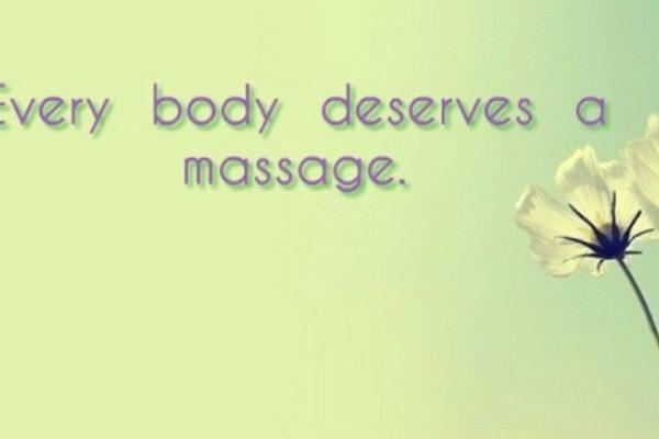 Every Body Deserves A Massage