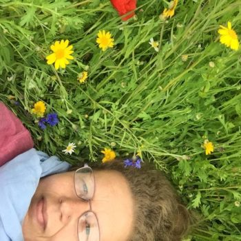 Me In The Flowers