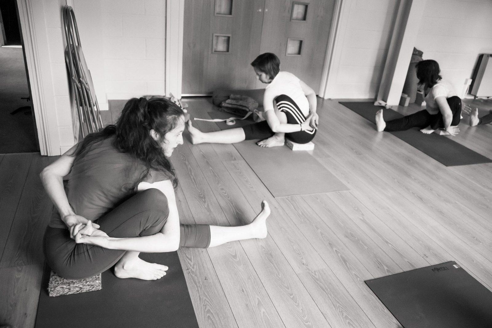 Claire Teaching Marichyasana1